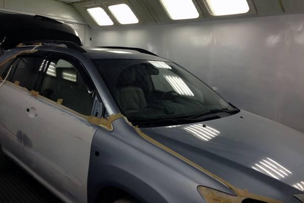 Кузовной ремонт иномарки