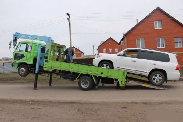 Эвакуатор для тяжелых автомобилей