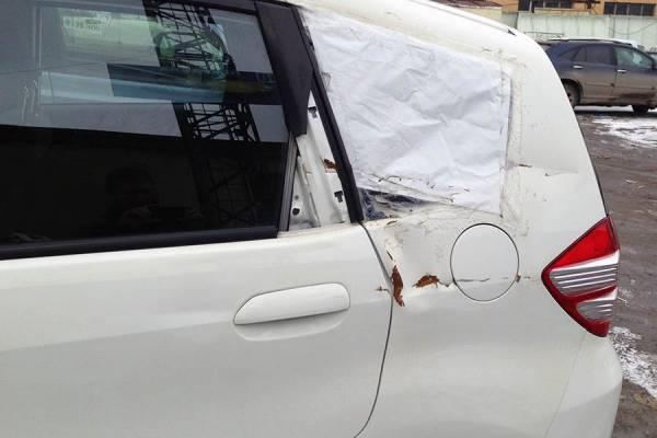Ремонт вмятин на кузове